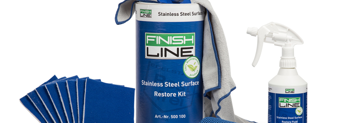 Stainless Steel Surface Restore Kit
